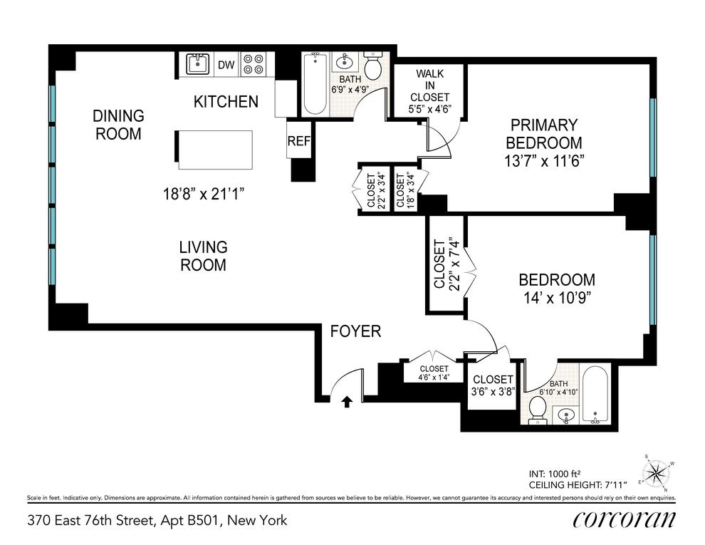 Unit B501 at 370 East 76th Street, New York, NY 10021