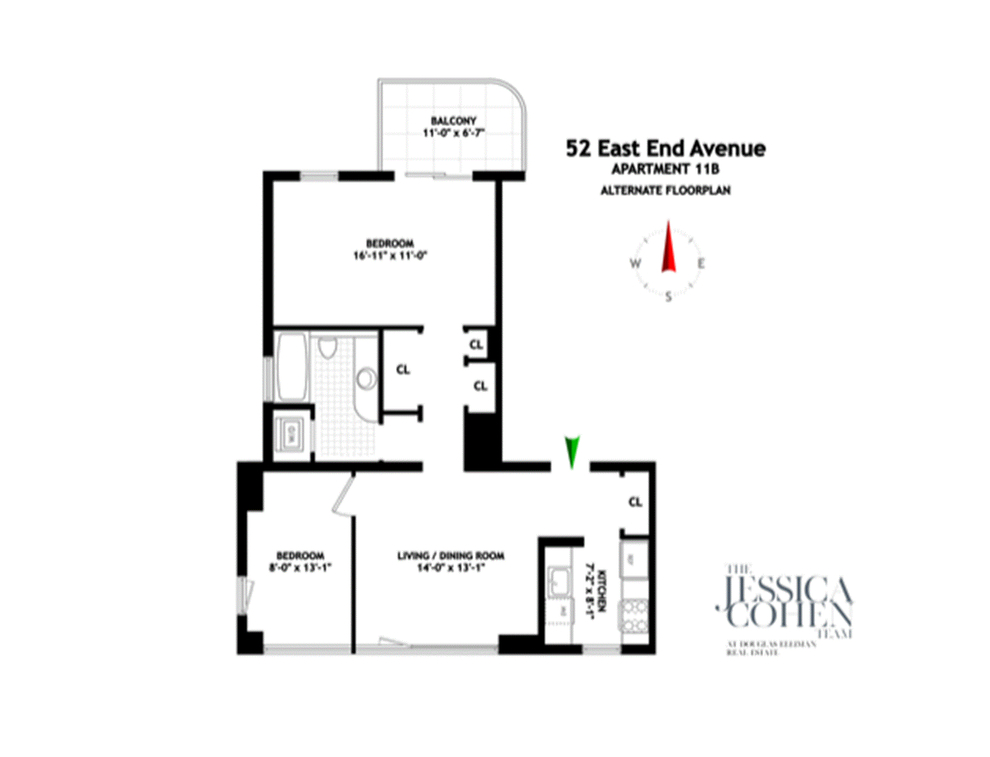 Unit 11B at 52 East End Avenue, New York, NY 10028