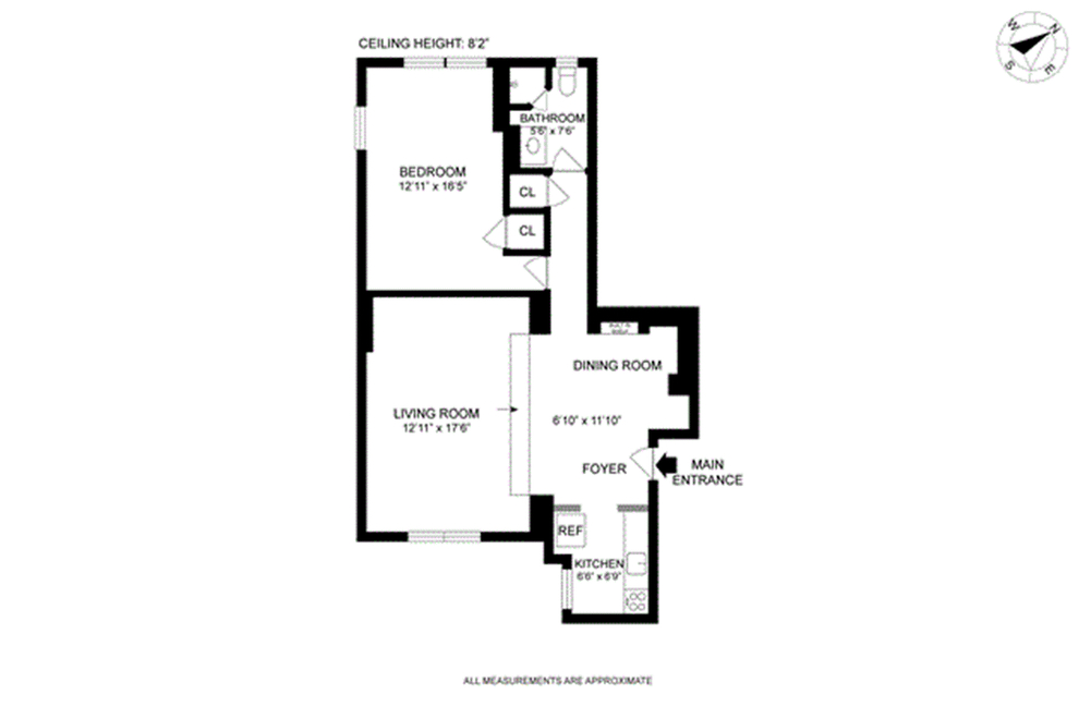Unit 1A at 300 West 72nd Street, New York, NY 10023