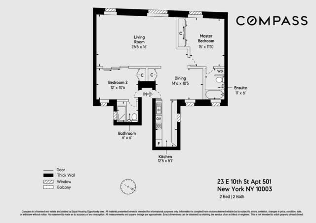 Unit 501502 at 23 East 10th Street, New York, NY 10003