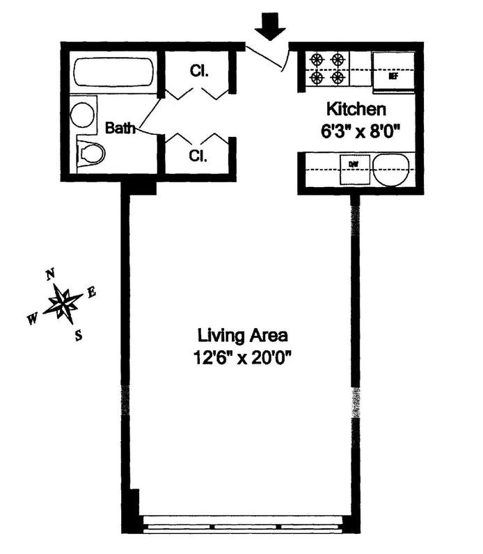 Unit 4E at 220 East 65th Street, New York, NY 10065