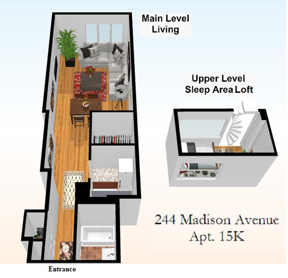 Unit 15K at 244 Madison Avenue, New York, NY 10016