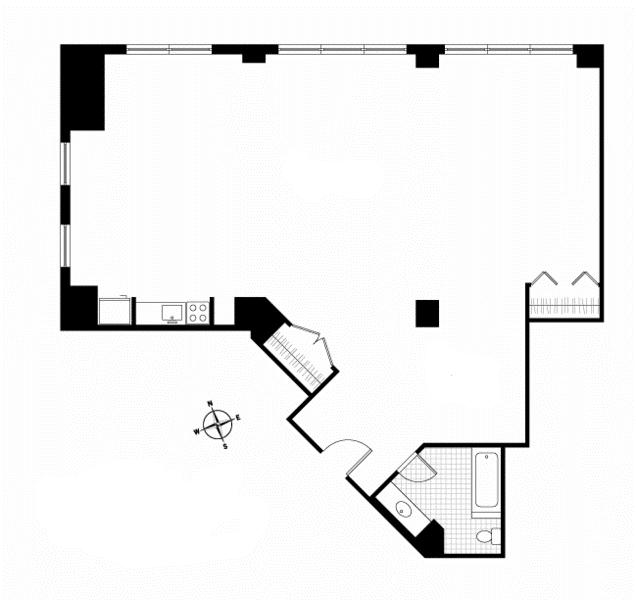 Unit 8A at 448 West 37th Street, New York, NY 10018