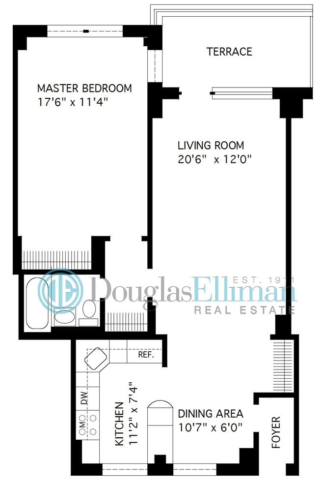 Unit 4L at 5700 Arlington Avenue, Bronx, NY 10471