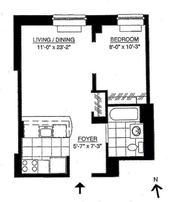Unit S8A at 555 West 23rd Street, New York, NY 10011