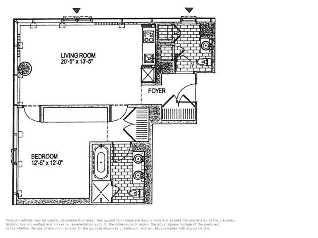 Unit 20B at 18 West 48th Street, New York, NY 10036