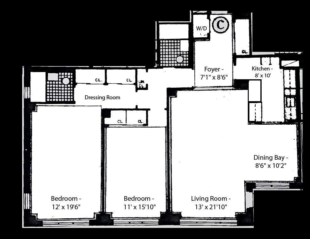 Unit 11CB at 415 East 52nd Street, New York, NY 10022
