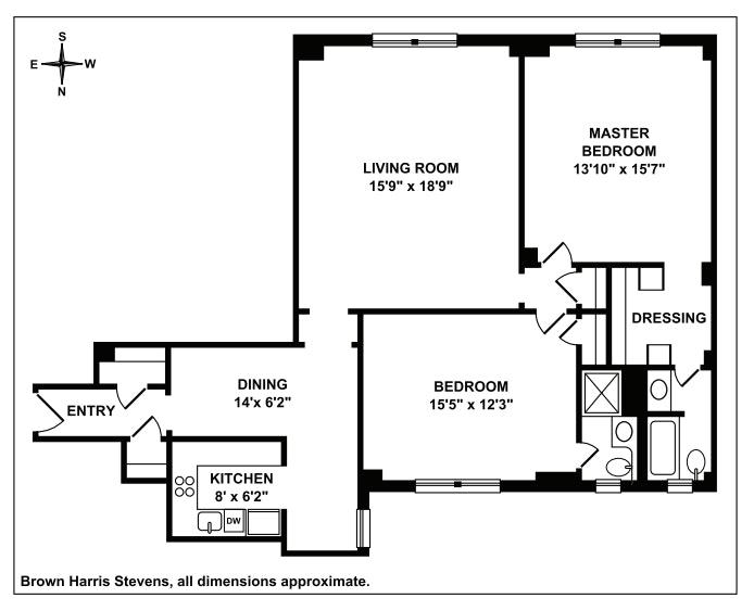 Unit 5C at 425 East 51st Street, New York, NY 10022