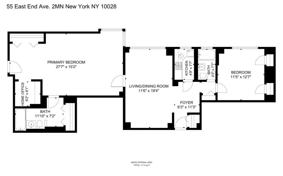 Unit 2M at 55 East End Avenue, New York, NY 10028
