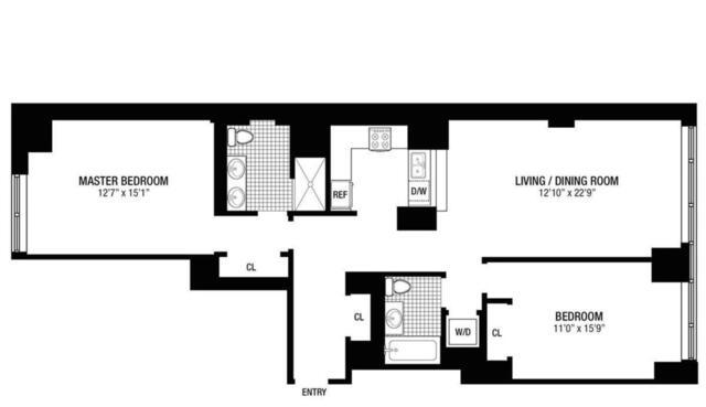 Unit 3I at 225 East 34th Street, New York, NY 10016