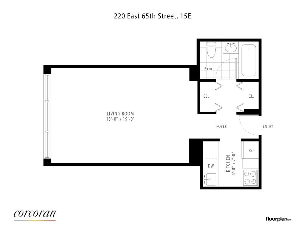 Unit 15E at 220 East 65th Street, New York, NY 10065