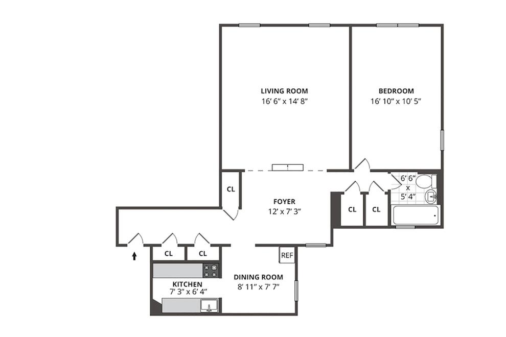 Unit 5B at 30 Bogardus Place, New York, NY 10040