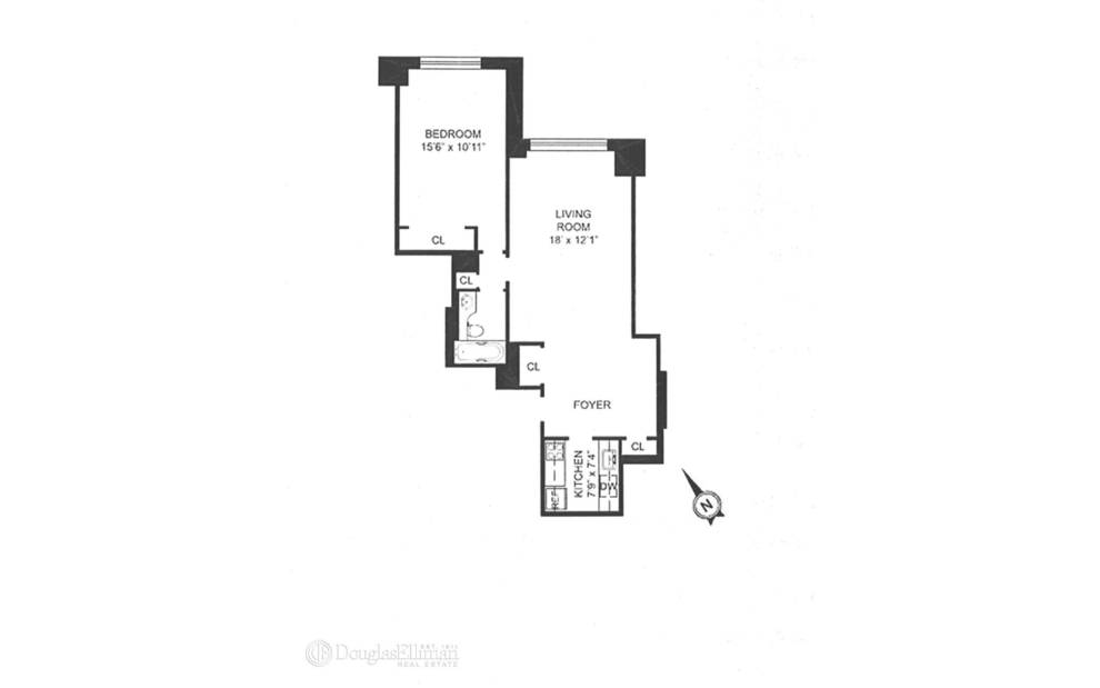 Unit 31A at 200 Rector Place, New York, NY 10280