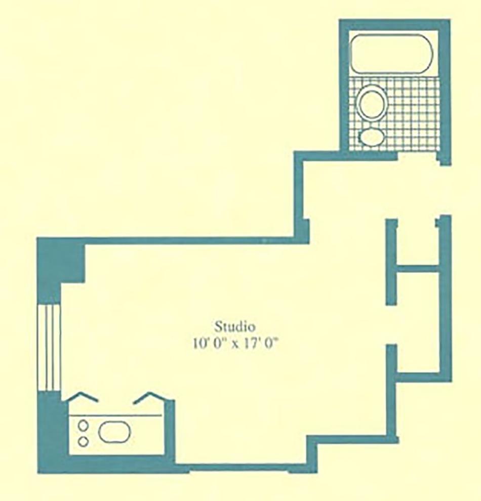 Unit 2110 at 5 Tudor City Place, New York, NY 10017