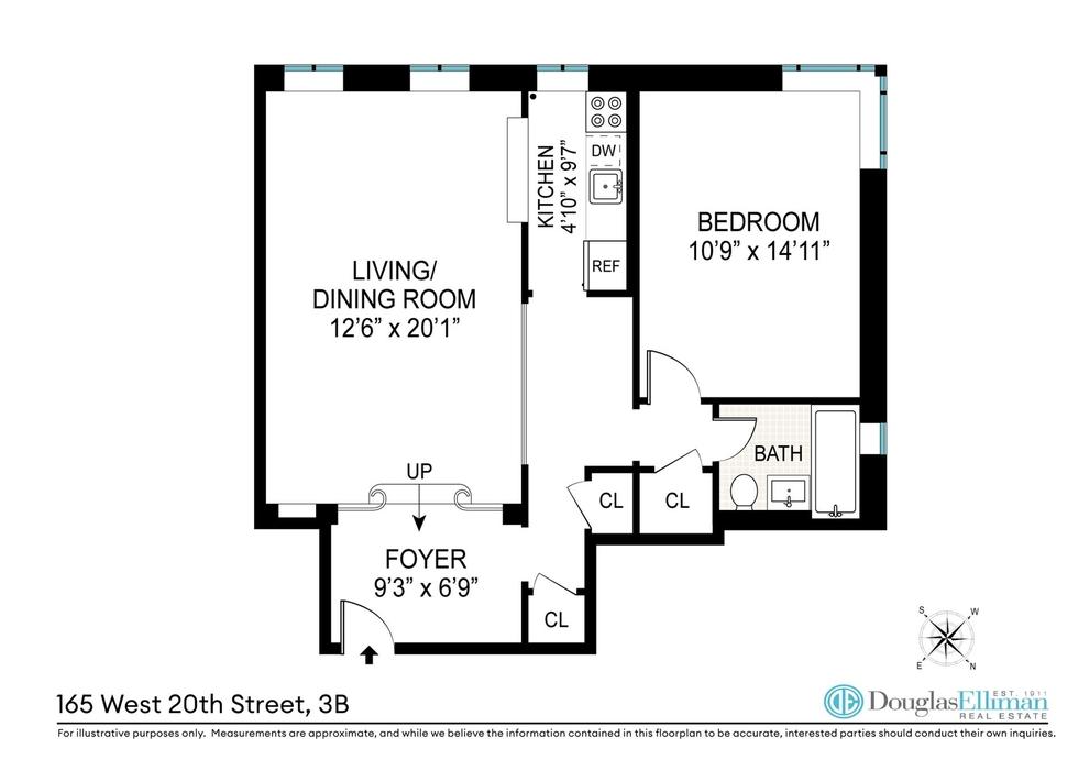 Unit 3B at 165 West 20th Street, New York, NY 10011
