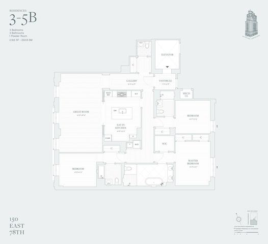 Unit 3B at 150 East 78th Street, New York, NY 10075