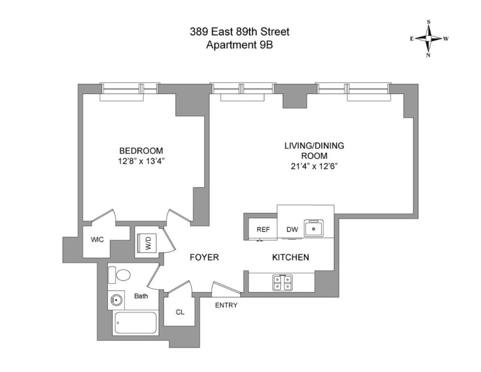 Unit 8B at 389 East 89th Street, New York, NY 10128