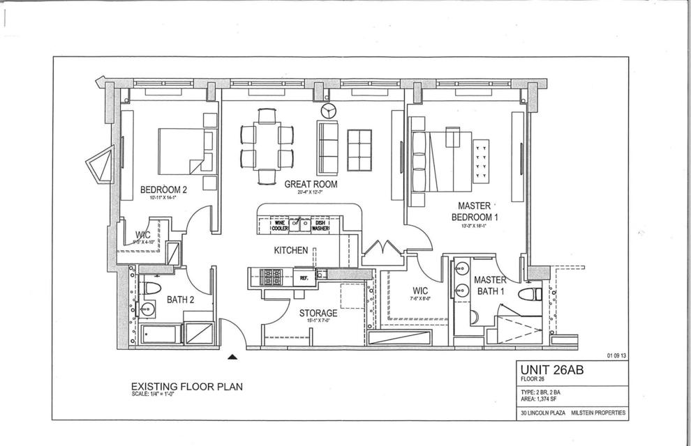 Unit 26AB at 30 West 63rd Street, New York, NY 10023