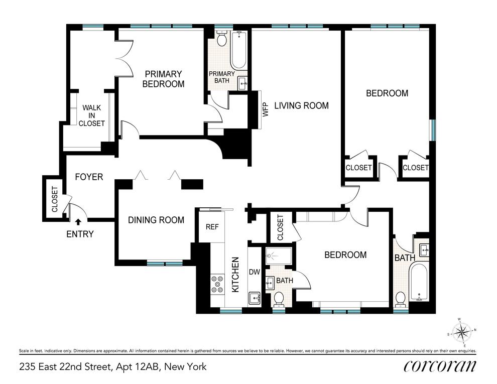 Unit 12AB at 235 East 22nd Street, New York, NY 10010