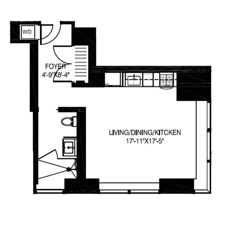 Unit 33G at 123 Washington Street, New York, NY 10006