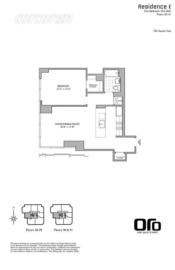 Unit 40E at 306 Gold Street, Brooklyn, NY 11201