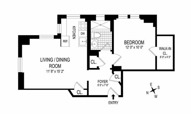 Unit 2A at 365 West 20th Street, New York, NY 10011