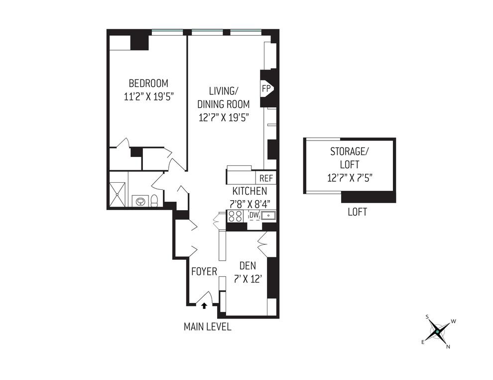 Unit 5E at 148 West 23rd Street, New York, NY 10011
