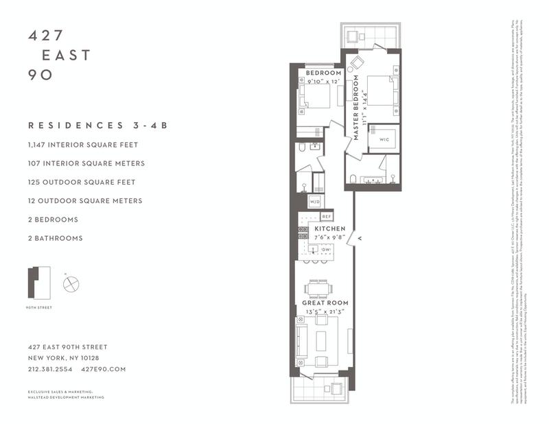 Unit 3B at 427 East 90th Street, New York, NY 10128