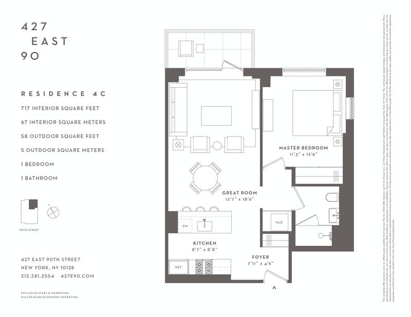 Unit 4C at 427 East 90th Street, New York, NY 10128