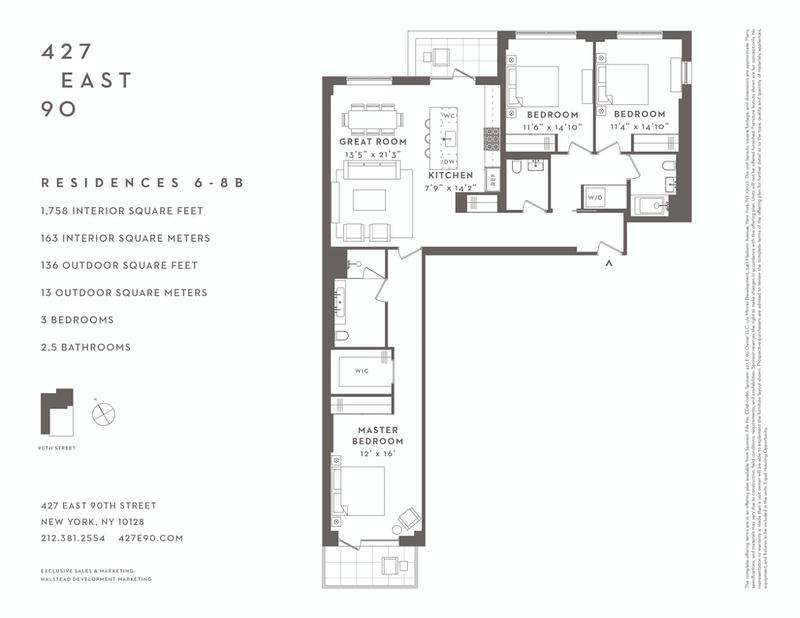 Unit 6B at 427 East 90th Street, New York, NY 10128