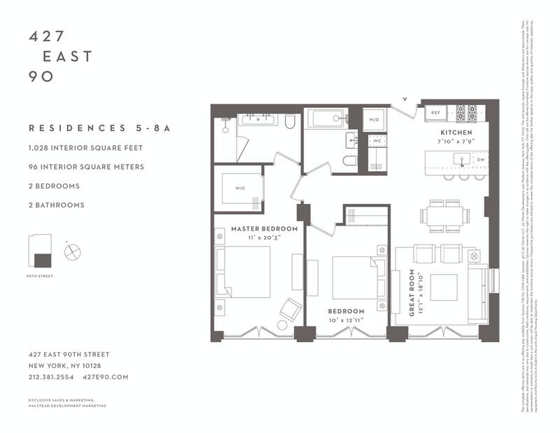 Unit 5A at 427 East 90th Street, New York, NY 10128