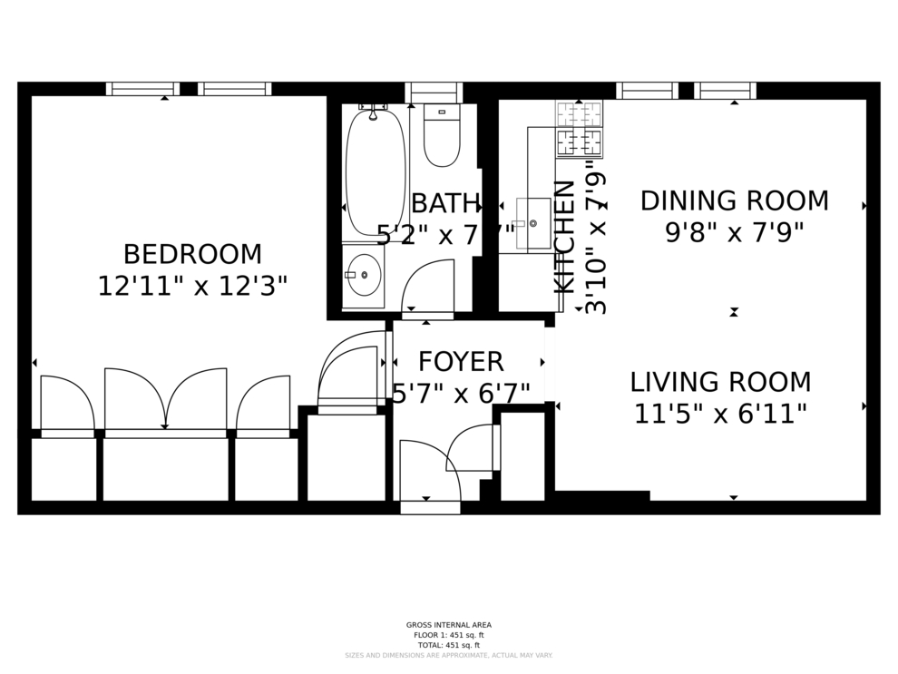 Unit 1D at 166 East 92nd Street, New York, NY 10128