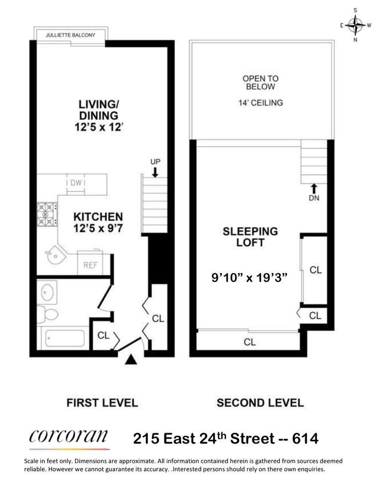 Unit 614 at 215 East 24th Street, New York, NY 10010