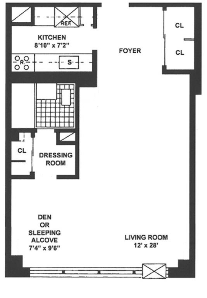 Unit 5S at 205 West End Avenue, New York, NY 10023