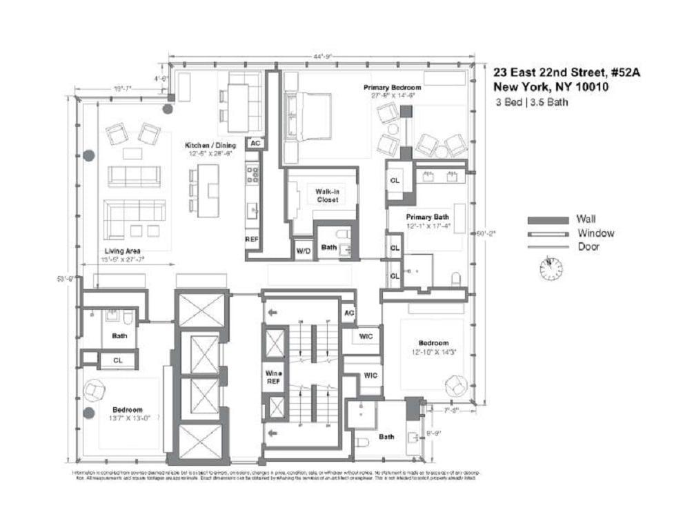 Unit 52FL at 23 East 22nd Street, New York, NY 10010