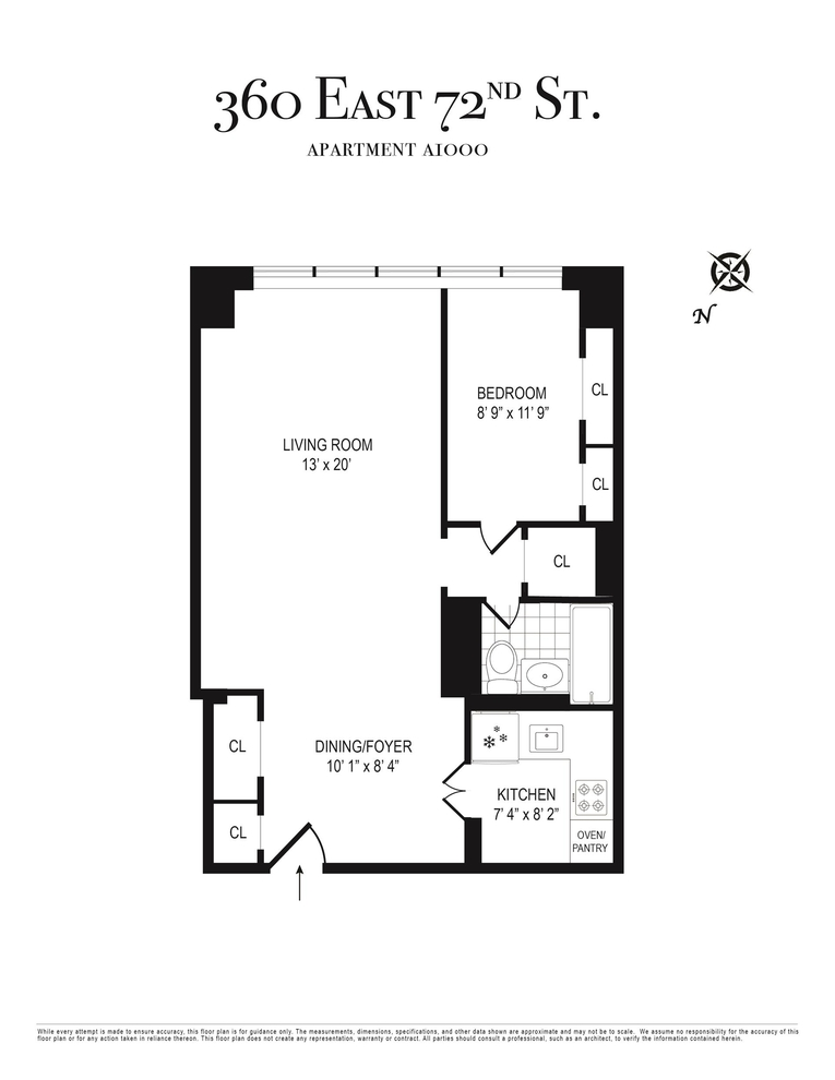 Unit A1000 at 360 East 72nd Street, New York, NY 10021