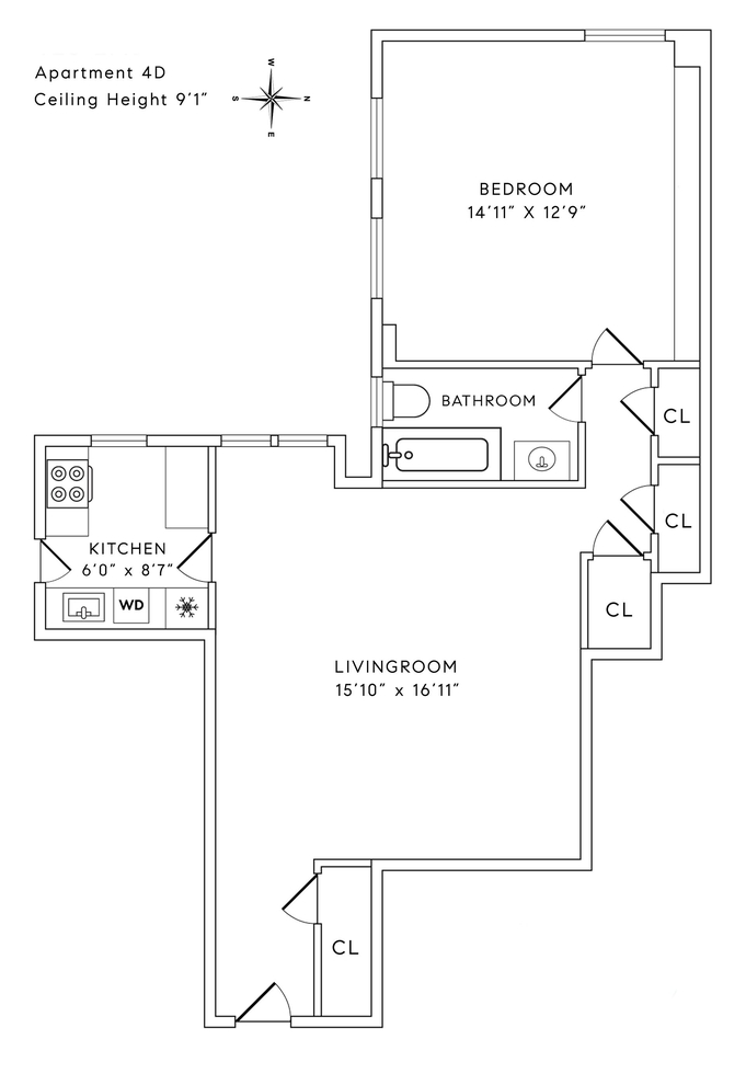 Unit 4D at 425 East 51st Street, New York, NY 10022