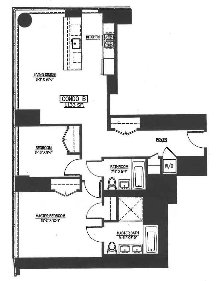Unit 24B at 1 Northside Piers, Brooklyn, NY 11249