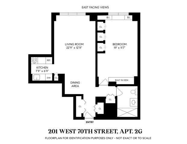 Unit 2G at 201 West 70th Street, New York, NY 10023