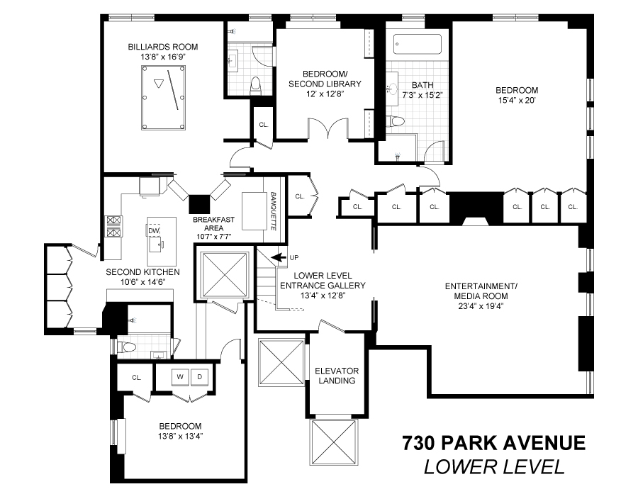 Unit 34B2B at 730 Park Avenue, New York, NY 10021