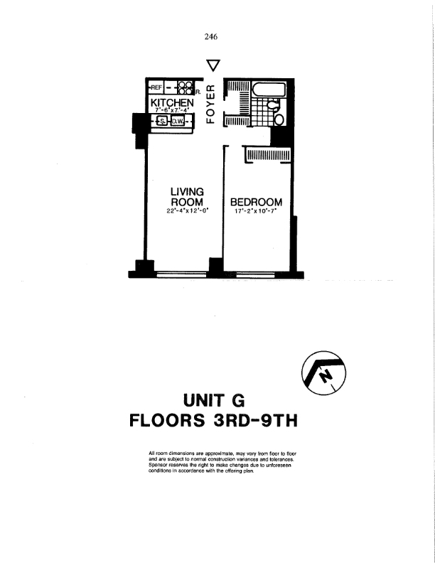 Unit 8G at 200 Rector Place, New York, NY 10280