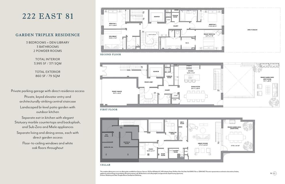 Unit 1 at 222 East 81st Street, New York, NY 10028