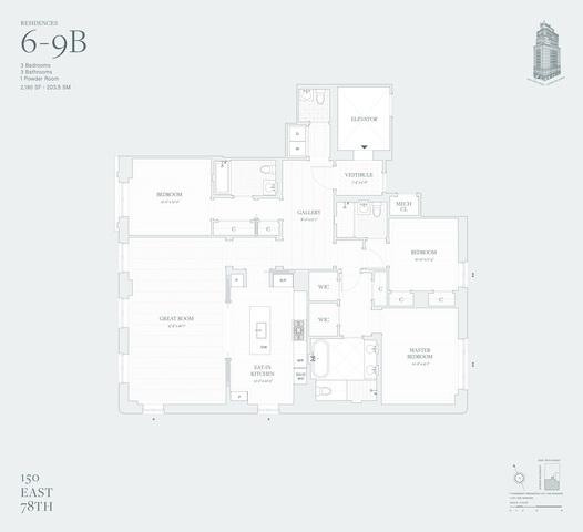 Unit 9B at 150 East 78th Street, New York, NY 10075