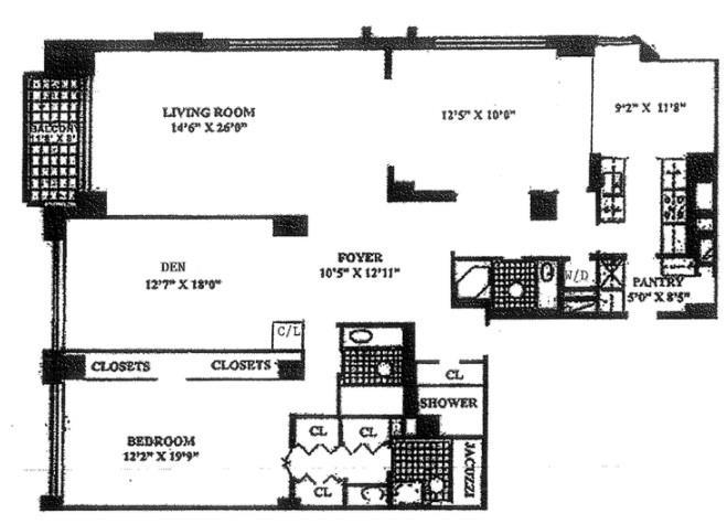Unit 41F at 303 East 57th Street, New York, NY 10022