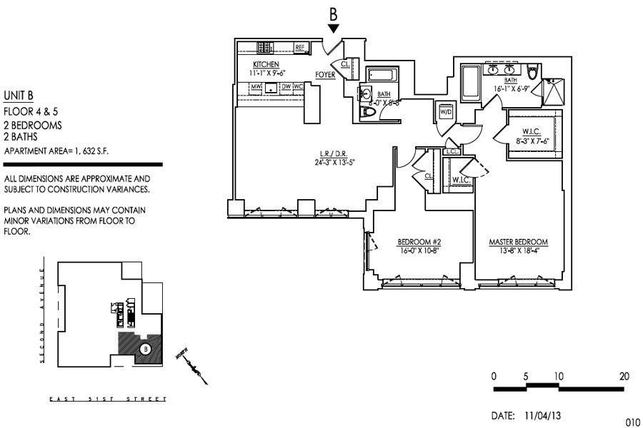Unit 5B at 305 East 51st Street, New York, NY 10022