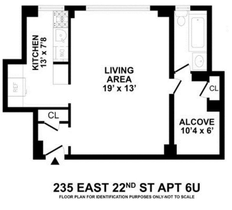 Unit 6U at 235 East 22nd Street, New York, NY 10010