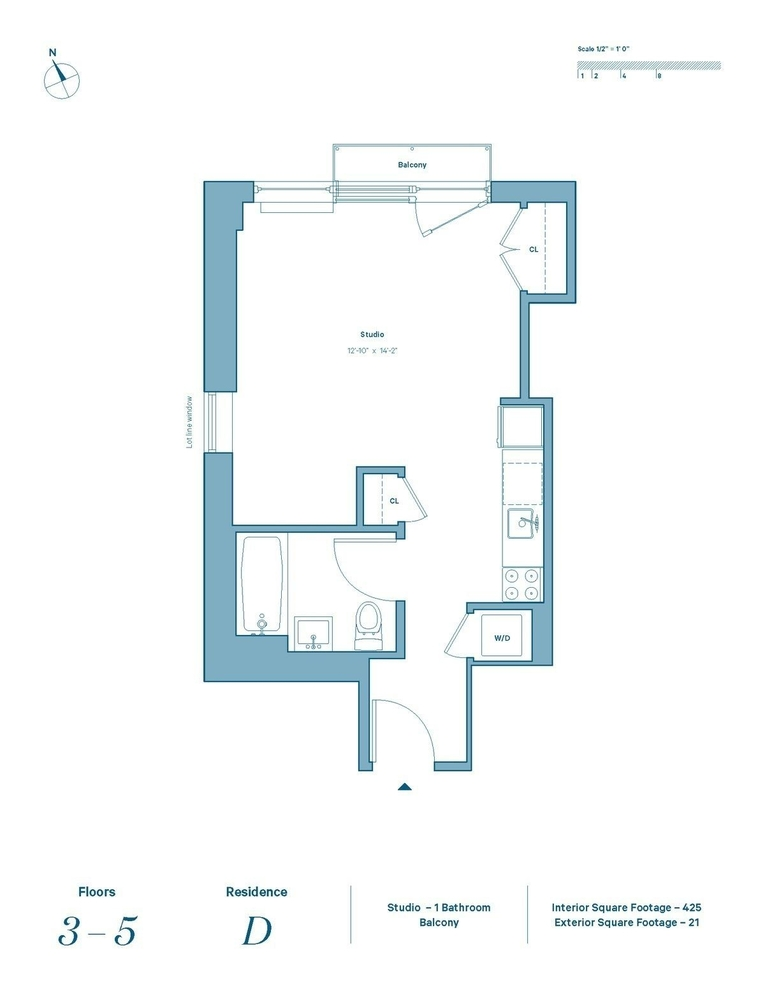 Unit 3D at 48 East 132nd Street, New York, NY 10037