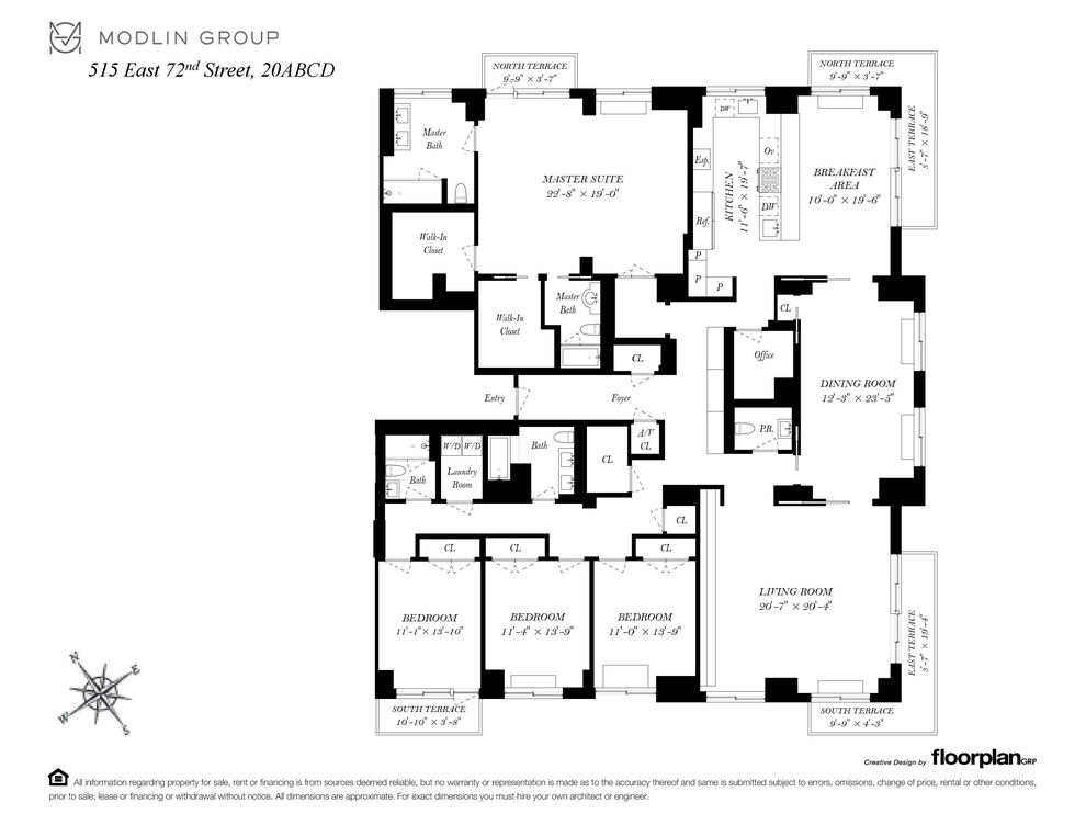 Unit 20ABCD at 515 East 72nd Street, New York, NY 10021