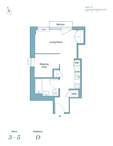 Unit 4D at 48 East 132nd Street, New York, NY 10037