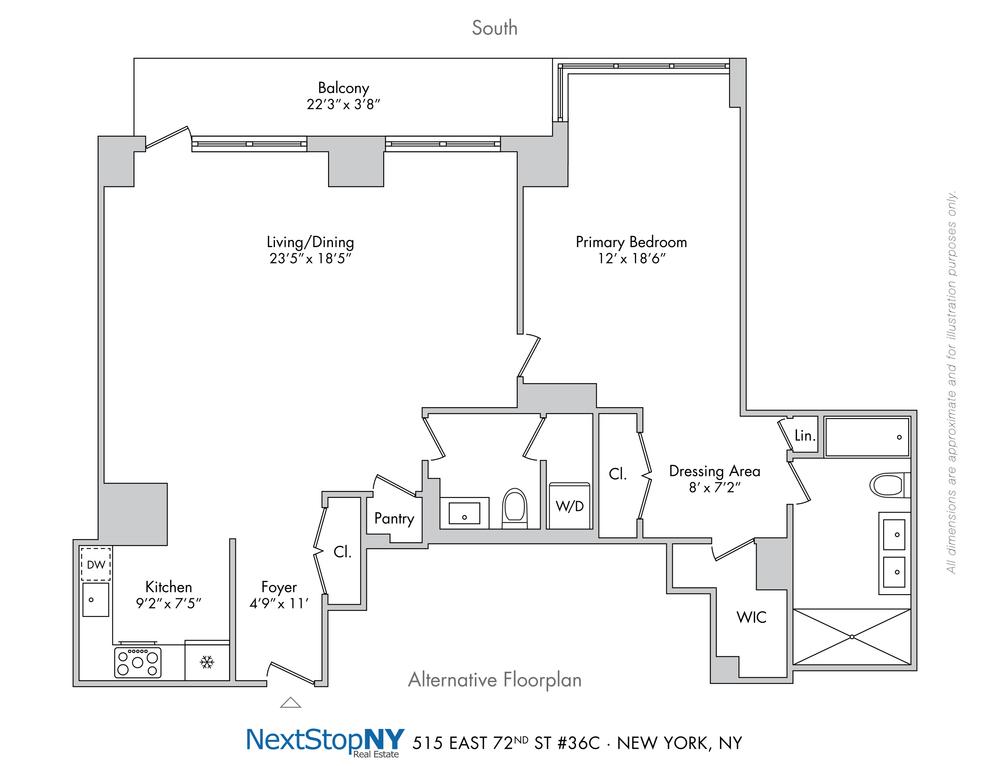 Unit 36C at 515 East 72nd Street, New York, NY 10021